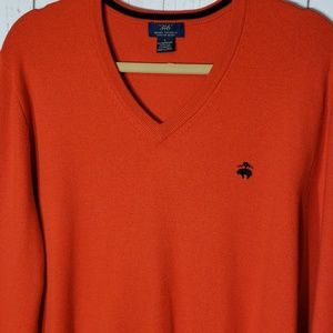Brooks Brothers 346  wool pull over sweater